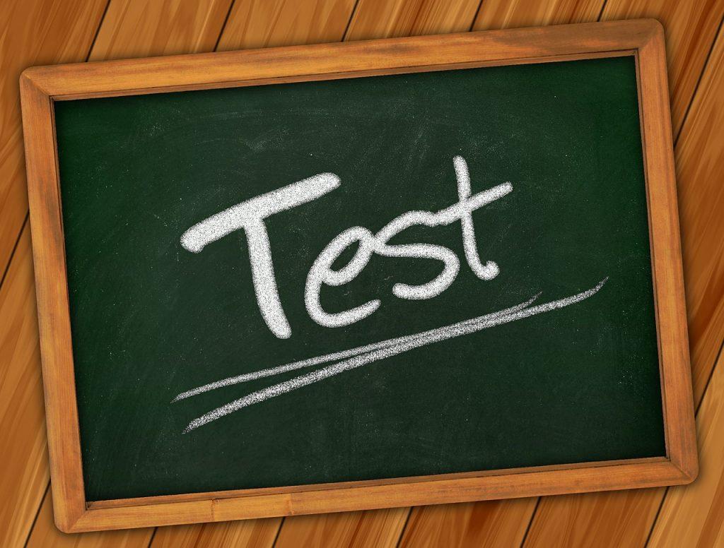 Próbne egzaminy