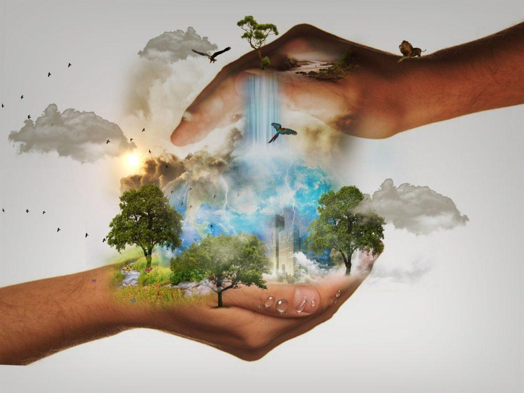 Nastolatka w obronie środowiska