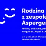 Uwaga! Konferencja Rodzina z zespołem Aspergera – już od 10 stycznia dostępne bilety!